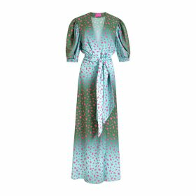 At Last. - Louise Silk Velvet Shirt- Gold
