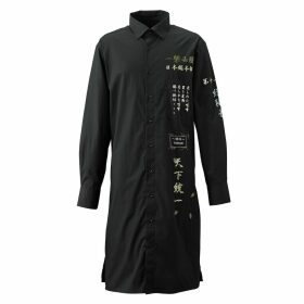 TOKKOU - Tokkou Japanese Cotton Women'S Long-Sleeve Shirt in Black