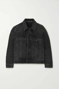 Alexander Wang - Game Denim Jacket - Dark gray