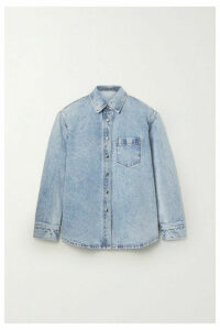 Alexander Wang - Oversized Denim Shirt - Light denim