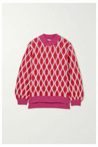 Stine Goya - Anders Cable-knit Wool-blend Sweater - Pink