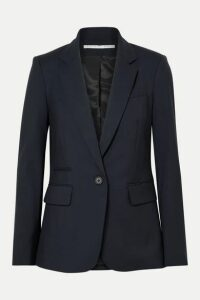 Veronica Beard - Classic Stretch-wool Crepe Blazer - Midnight blue