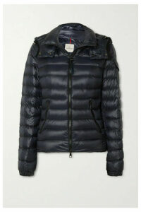 Moncler - Hooded Quilted Shell Down Jacket - Navy