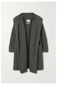 Lauren Manoogian - Capote Hooded Alpaca-blend Cardigan - Gray
