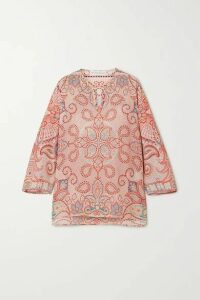 Etro - Paisley-print Silk Top - Ivory