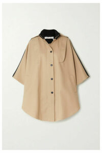 See By Chloé - Cotton-blend Twill Cape - Beige