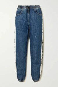 Alexander Wang - Webbing-trimmed Jeans - Mid denim