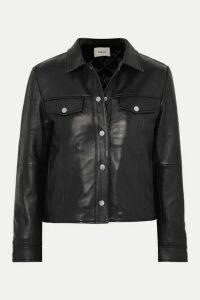 Deadwood - + Net Sustain Frankie Leather Jacket - Black