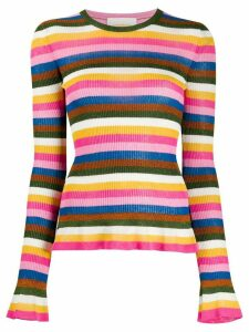 La Doublej striped jumper - PINK