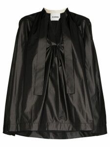 Jil Sander Mavis V-neck blouse - Black