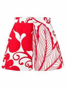 La Doublej x Mantero Marea printed shorts - White