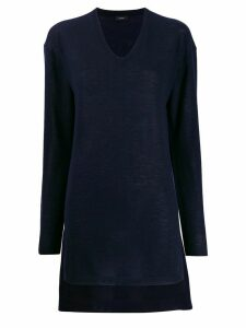 Joseph elongated cashmere jumper - Blue
