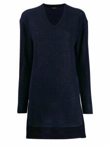 Joseph elongated cashmere jumper - Blue