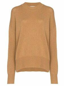 Jil Sander oversized cashmere jumper - NEUTRALS