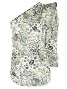 Isabel Marant Étoile structured one-shoulder top - White
