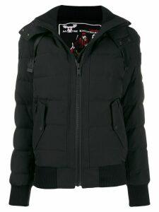 Moose Knuckles hooded puffer jacket - Black