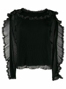 See By Chloé ruffle-trim blouse - Black