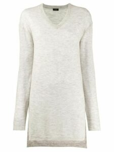 Joseph elongated cashmere pullover - Grey