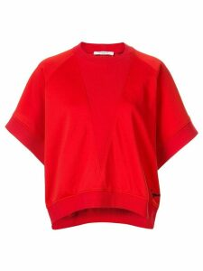 Givenchy batwing oversized T-shirt - Red