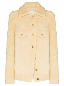 Chloé buttoned shirt coat - NEUTRALS