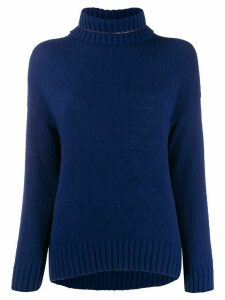 La Fileria For D'aniello roll-neck sweater - Blue