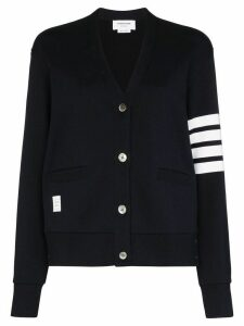 Thom Browne 4-Bar V-neck cardigan - Blue
