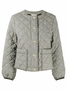 Mackintosh KEISS Houndstooth Quilted Wool Jacket LQ-1003 - Black