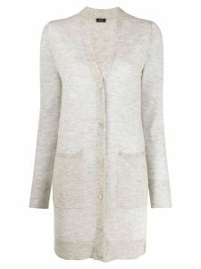 Joseph elongated cashmere cardigan - Grey