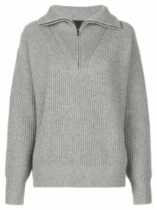 Nili Lotan Hester zip-up jumper - Grey