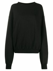 Ottolinger oversized graphic print sweatshirt - Black