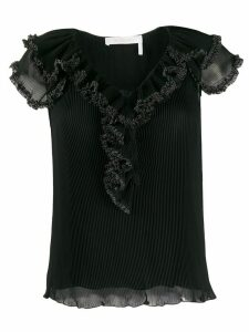 See by Chloé ruffle detail blouse - Black