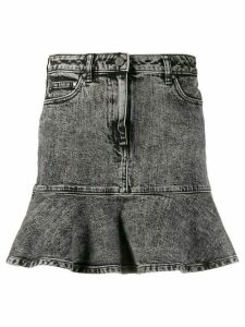 Michael Michael Kors peplum denim skirt - Grey