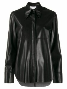 Nanushka shirt jacket - Black