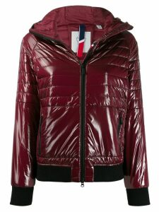 Rossignol Cyrus shiny hooded jacket - Red