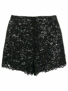 Giuseppe Di Morabito sequin lace shorts - Black
