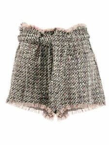 IRO Vany tweed shorts - Black