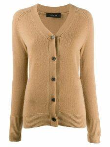 Joseph slim-fit cashmere cardigan - Brown