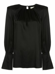 Khaite Kirsty cut-out shirt - Black