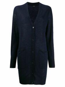 Joseph elongated cashmere cardigan - Blue