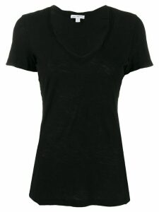 James Perse flamé effect T-shirt - Black