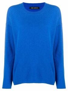 Iris Von Arnim dropped shoulder jumper - Blue