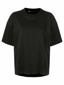 Muller Of Yoshiokubo Half-sleeve boxy-fit T-shirt - Black