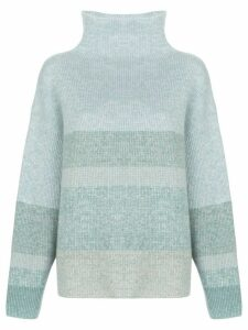 Le Kasha Kinsale funnel-neck jumper - Blue