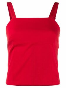 Calvin Klein Jeans crepe tank top - Red