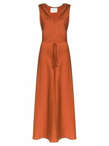 Bondi Born belted maxi dress - ORANGE