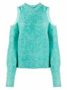 Diesel M-Lara cold-shoulder jumper - Green