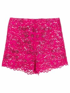 Giuseppe Di Morabito sequin lace shorts - PINK