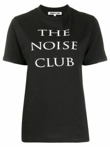 McQ Alexander McQueen Noise Club print T-shirt - Black