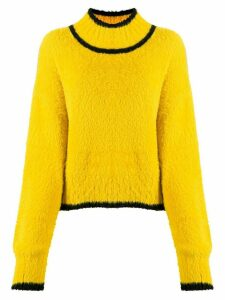 Hope True fuzzy jumper - Yellow