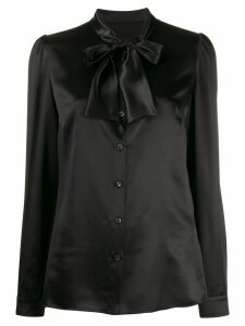 Dolce & Gabbana pussybow blouse - Black